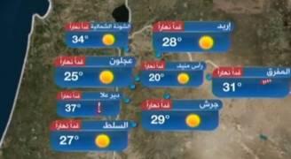 انخفاض على درجات الحرارة الخميس .. نشرة مصورة