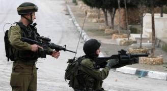 اصابة شاب فلسطيني برصاص الاحتلال في نابلس