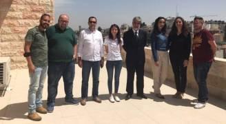 وزارة الاعلام الفلسطينية  تشيد بدور رؤيا