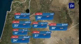 بالفيديو..انخفاض على درجات الحرارة الجمعة مدعوما بغبار