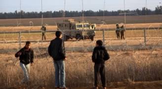 إصابة فلسطينيين برصاص الاحتلال شرق قطاع غزة