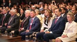 الملك يفتتح أعمال المنتدى الاقتصادي العالمي