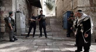 الاحتلال يغلق البلدة القديمة من القدس المحتلة