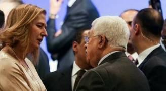 عباس يلتقي ليفني ويدعو نتنياهو للقائه