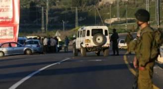 الاحتلال يغلق طريقا في نابلس بشبهة وجود عبوة ناسفة