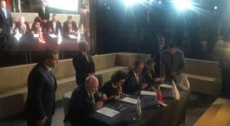 الملقي يرعى توقيع اتفاقيات مصانع تفوق قيمتها المليار دولار..صور