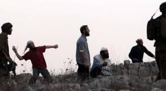 مستوطنون يعتدون على مواطن ويحطمون مركبة جنوب نابلس