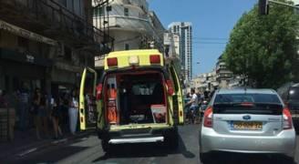 ٥ إصابات في حادث دهس في تل أبيب .. فيديو