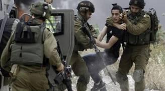 الاحتلال يعتقل سبعة شبان ويصيب آخرين في قلقيلية