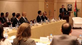 فاخوري يفتتح منتدى الأعمال الأردني- الأمريكي