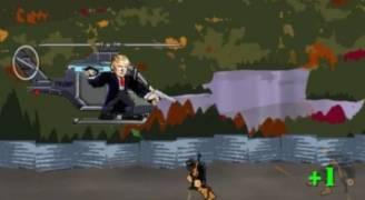 ترمب مصدر إلهام لمطوري الألعاب الإلكترونية