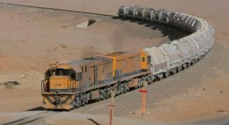سكة حديد العقبة تواصل رفع حجم كمية نقل الفوسفات
