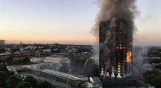 تيريزا ماي تعتذر للبريطانيين عن فشل التعامل مع حريق برج لندن