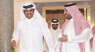 أمير قطر يهنئ الامير محمد بن سلمان لاختياره وليا للعهد