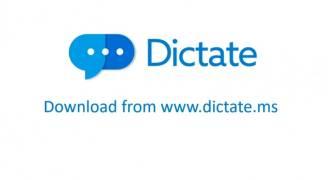"""مايكروسوفت يطلق تطبيق """"ديكتيت"""" الذي يدعم أكثر من ٢٠ لغة"""