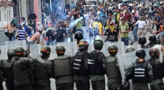 سقوط القتيل ٧٥ بمظاهرات فنزويلا خلال ثلاثة أشهر