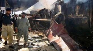 انفجار مزدوج في سوق بباكستان يوقع قتلى وجرحى