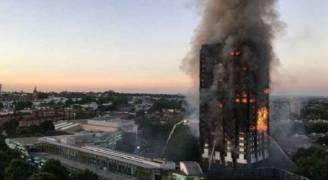 بريطانيا..اخلاء ٥ ابراج سكنية في لندن خشية اندلاع حرائق