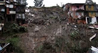 خمسة قتلى و ١٢٠ مفقودا في انهيار ارضي في الصين