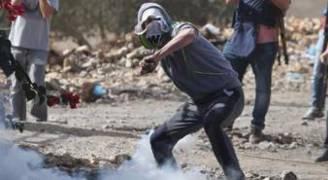 إصابات بالاختناق في مواجهات مع الاحتلال شمال الخليل