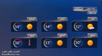 انخفاض على درجات الحرارة الأربعاء والخميس وارتفاعها بدءاً من الجُمعة.. فيديو 