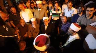إصابة خطيب المسجد الأقصى بالرصاص المطاطي
