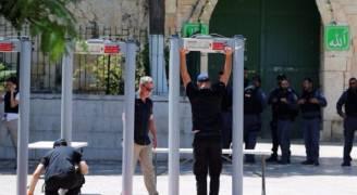 مخابرات الاحتلال تدعو لازالة البوابات الالكترونية عن الأقصى