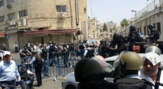 تجدد المواجهات بعد انتهاء صلاة الجمعة بالقدس المحتلة