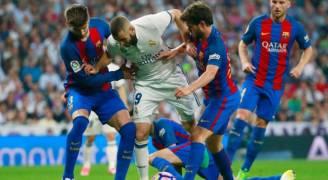 تعرف على مواعيد كلاسيكو مدريد وبرشلونة في الدوري