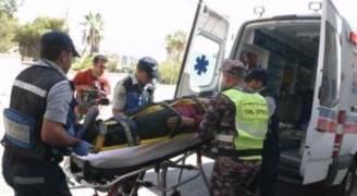 ٨٩ إصابة نتيجة ١٦٨ حادثاً مختلفاً