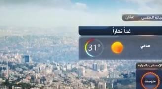 بالفيديو .. ارتفاع قليل على درجات الحرارة السبت