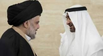 محمد بن زايد يستقبل مقتدى الصدر في أبوظبي