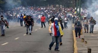 المعارضة الفنزويلية ترفض اي 'تهديد عسكري اجنبي'