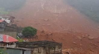 ٣٠٠ قتيل على الأقل في انهيار طيني في سيراليون