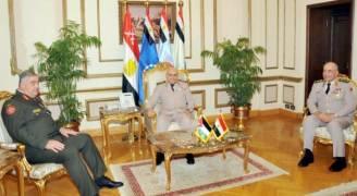 فريحات بمصر لبحث أوجه التصنيع العسكري
