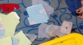 حصريا .. رؤيا تنشر بالفيديو آثار حادثة الموقر وتكسير صناديق الاقتراع