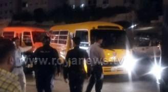 بالصور .. بدء عملية الفرز في منطقة تلاع العلي وسط إجراءات أمنية مشددة