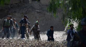 اكتشاف مقابر جماعية في قرية افغانية بعد تطهريها من داعش