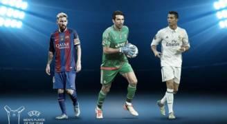 الكشف عن الاسماء المرشحة لجائزة افضل لاعب في اوروبا