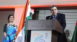 فاخوري يؤكد أهمية التعاون القائم مع الهند