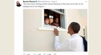 تغريدة لأوباما تحطم الأرقام القياسية