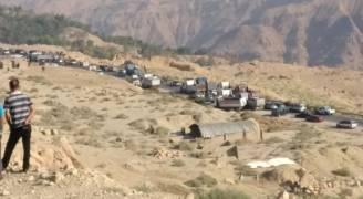 احتجاج وإغلاق طريق الكرك الأغوار .. والأمن يتدخل
