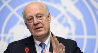 دي ميستورا: تحولات نوعية بالأزمة السورية قريبا