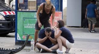 اعتقال شخص اثر اعتداء برشلونة