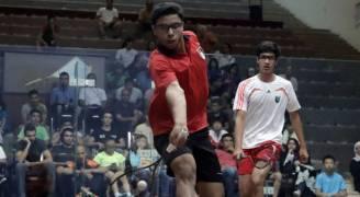 السراج يتأهل إلى نهائي البطولة الآسيوية للسكواش