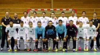 منتخب كرة الصالات في المجموعة الرابعة بدورة الألعاب الآسيوية للصالات المغلقة