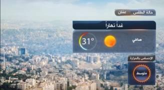 ارتفاع قليل على درجات الحرارة الأحد.. فيديو