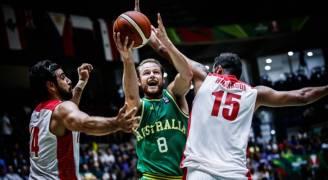 استراليا تتوج بلقب بطولة كاس اسيا لكرة السلة