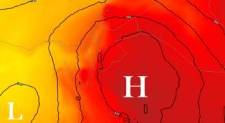 كتلة هوائية حارة تؤثر على المملكة خلال الأيام القادمة