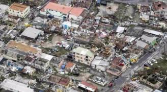 إعصار إرما يدمر ٩٥% من الجزر في منطقة الكاريبي